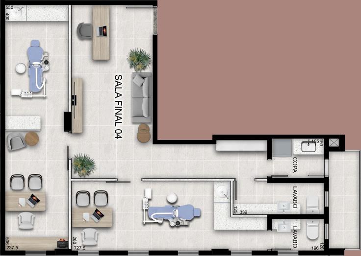 Sala tipo 4